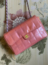 Chanel Classic CC Quilted Patent Le