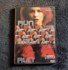Run Lola Run (Dvd, 1999, Original in German) Rare Oop
