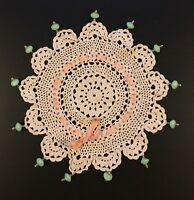 Mackenzie Childs Vintage Doily Cover Rare Victoria And Richard