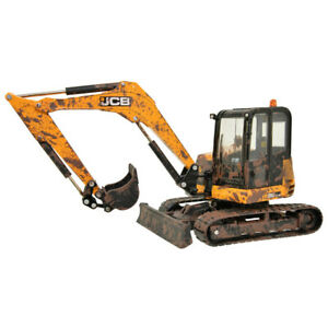 Jcb Midi Excavator Muddy Version 1:3 2 Model Britains