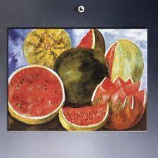"VIVA LA VIDA WATERMELONS 20x26"" Frida Kahlo, Print on canvas, Decor, NO FRAME!"