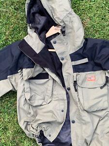 CK CarpKinetics Fishing Coat Waterproof Jacket Size XL - Worn Once Mint