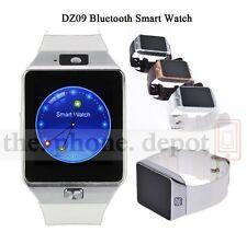 White Bluetooth DZ09 Smart Watch For HTC Moto Samsung Android Phone Camera SIM