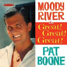 PAT BOONE - MOODY RIVER / GREAT! GREAT! GREAT! - NEW CD!!