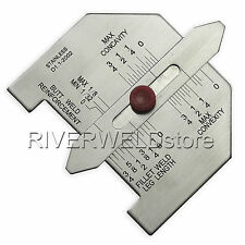 Automatic Size Fillet Weld Butt Welding Stainless Steel Inch Inspection Gauge