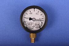 Afriso Vakuummeter 0 bis -1bar Glyzerin Pumpenprüfkoffer Ölpumpe Ölbrennerpumpe