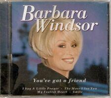 Barbara Windsor - You've Got A Friend (CD 1999) NEW/SEALED