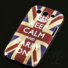 Samsung Galaxy S3 NEO i9300 Hard Handy Schale Case Schutz Hülle Keep Calm Bumper