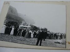 Lot23 - 1910 HAPPY VALLEY LLANDUDNO ~ Glass Negative & Photo