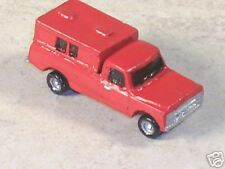 N Scale 1970 Red Chevy Pickup with Topper