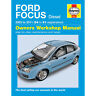 Ford Focus Haynes Manual 2005-09  1.6 1.8 2.0 Diesel Workshop Manual