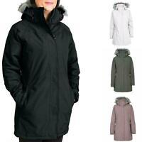 Ladies Trespass Waterproof Jacket Parka Coat Warm Padded Hooded UK Sizes S - XXL