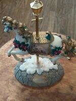 Stonehearth Hutch Carousel from the Thomas Kinkade Carousel Collection # 0501