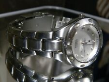 Rare Womens Fossil Blue Silver Dial 100 Meter Watch New Battery. 2 Year Warranty