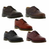 Dr Matens 3989 Mens Womens Black Brown Leather Brogues Shoes Size 5-12