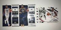 2018-19 Contenders 3 card Lot Donovan Mitchell Season Ticket + Variant + Legacy