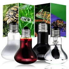 25/50/75/100W UVA DayNight Lamp Baking Sun Bird Snake Light Heat Reptile Bulb US