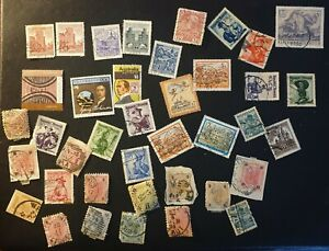 DUZIK: AUSTRIA Mixed Used Unchecked Stamps (No2353)**