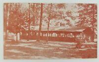 Postcard Camp Pine Grove Harrisburg Girl Scout Camp Gardners Pennsylvania