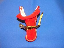 VINTAGE BARBIE DOG N DUDS RED VELVET COAT 944