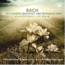 WINDSBACHER KNABENCHOR - WIE SCHÖN LEUCHTET DER MORGENSTERN  CD NEW+ BACH
