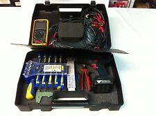 Universal Kunststoff Koffer Transportkoffer Werkzeugkoffer Schwarz Robust Stabil