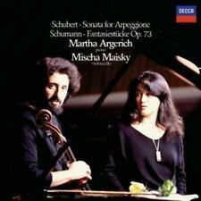 Schubert / Martha Ar - Sonata for Arpeggione / Fantasies [New Vinyl LP]
