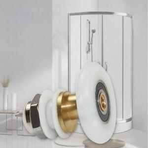Bathroom Bottom Shower Door Rollers Runners Pulleys Single Wheels 25/27mm