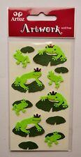 """Artoz Artwork Motiv """"Frosch"""" Sticker Aufkleber Frösche grün"""