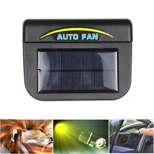 USA Solar Powered Car Window Windshield Auto Air Vent Cooling Fan System Cooler