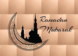 3 x Ramadan Kareem Greeting Card Islam Eid Card GIFTS