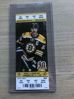 2013-14 Boston Bruins NHL Official Mint Ticket Stubs - pick any game!