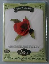 sizzix susans garden flower Tulip 10 die set 658418