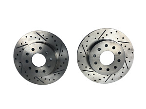 Pair of Universal Rear Ford Brake Rotors Rear Driver And Passenger Side