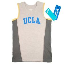 NCAA Fan Gear For Boys 4-7 UCLA Bruins Tank Top T shirt M (5-6) Heather Grey NWT