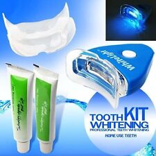 Home Kit Teeth Tooth Whitening Whitener Dental Bleaching LED White Oral Gel