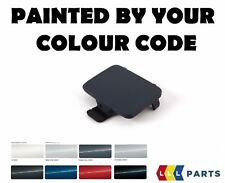 BMW E90 E91 M SPORT FRONT BUMPER TOW HOOK EYE COVER PAINTED BY YOUR COLOUR CODE