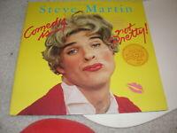 STEVE MARTIN COMEDY IS NOT PRETTY RECORD ALBUM SPECIAL PROMO COPY TOUGH FIND