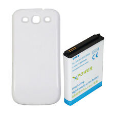 Extended Battery 4800mAh For Samsung Galaxy  i9300 i9305 S 3 S III S3  W COVER