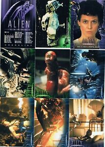 Alien Legacy 1998 Inkworks. Singles + Inserts. Check List. Cards $1 + discounts