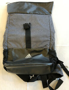 adidas water resistant roll top backpack