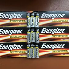 60 x Energizer AA Batteries Industrial Alkaline Battery 1.5V MN1500 Expiry 2027