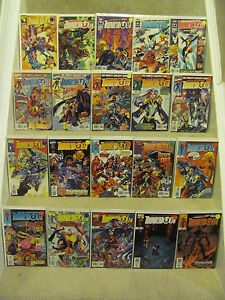 Thunderbolts #0 to #75 Complete Run Plus More Marvel 1997 Series 9.4 Near Mint