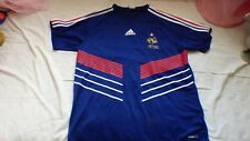 maillot de football Equipe de France adidas L bleu collector 2009