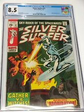 Silver Surfer #12 CGC Graded 8.5 White Pages Abomination Stan Lee Story