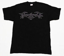 New Finntroll Logo T-Shirt Mens Size Small Heavy Metal Band