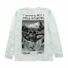 NEW Limited STELLA McCartney x TAYLOR SWIFT L/S Photo Tee Marble Dye Size S