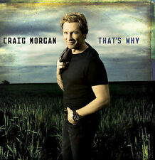 FREE US SHIP. on ANY 3+ CDs! ~Used,Good CD Craig Morgan: That's Why