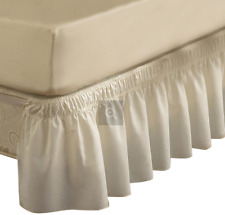 EasyFit Wrap-Around Bed Skirt White Twin / Full