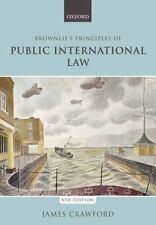 BROWNLIE'S PRINCIPLES OF PUBLIC INTERNATIONAL LAW - CRAWFORD, JAMES - NEW PAPERB
